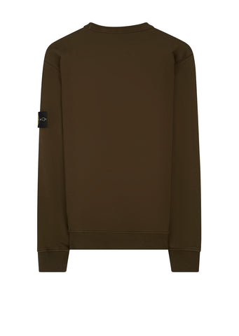 SS18 Cotton Sweatshirt in Military Green