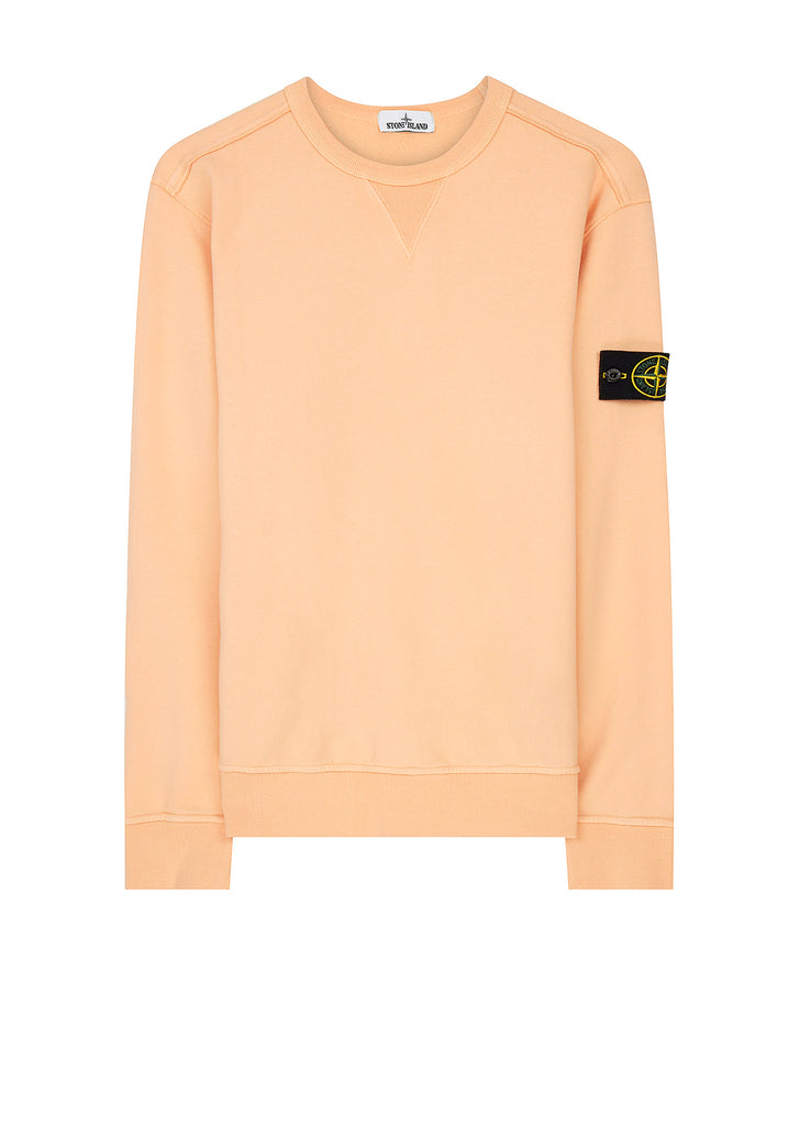 Cotton Sweatshirt in Salmon