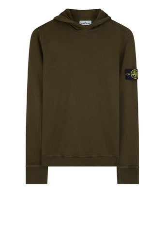 SS18 Hooded Sweatshirt in Military Green