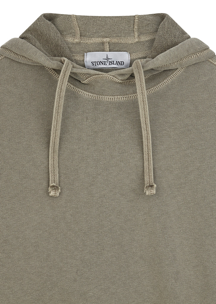 Hooded Sweatshirt in Plaster