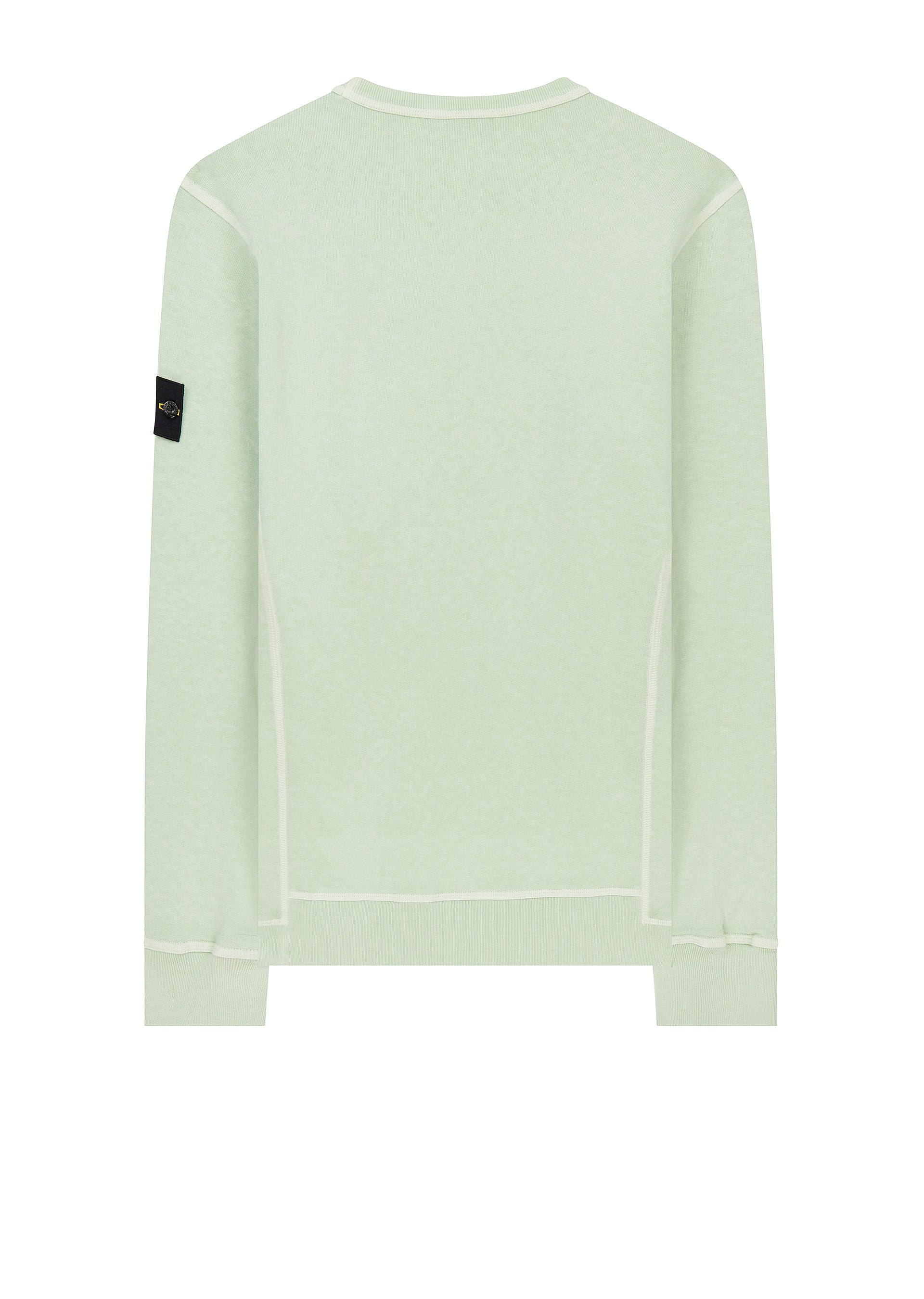 SS18 Stone Island T.Co+Old Effect Sweatshirt in Green | 18montrose