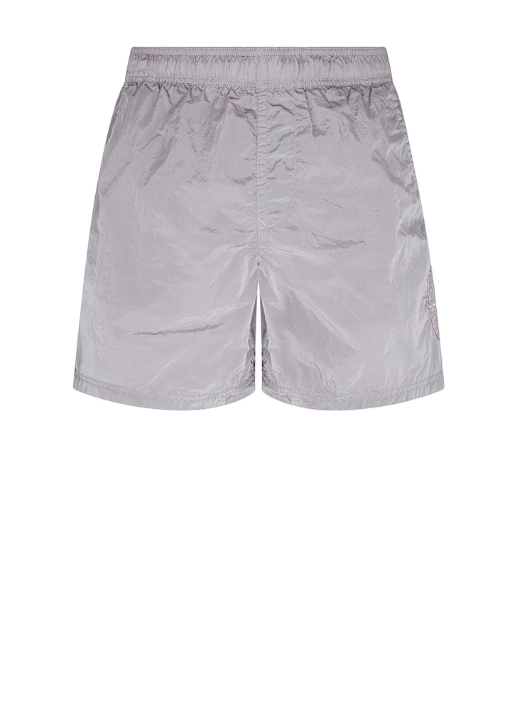 Nylon Metal Swim Shorts in Lavender