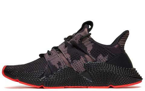 SS18 Prophere Sneakers in Black/Solar Red