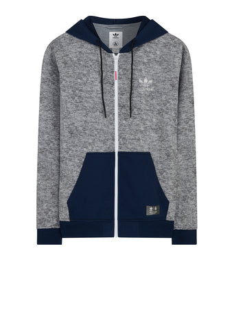 SS18 UA&Sons Zip Hoody in Grey