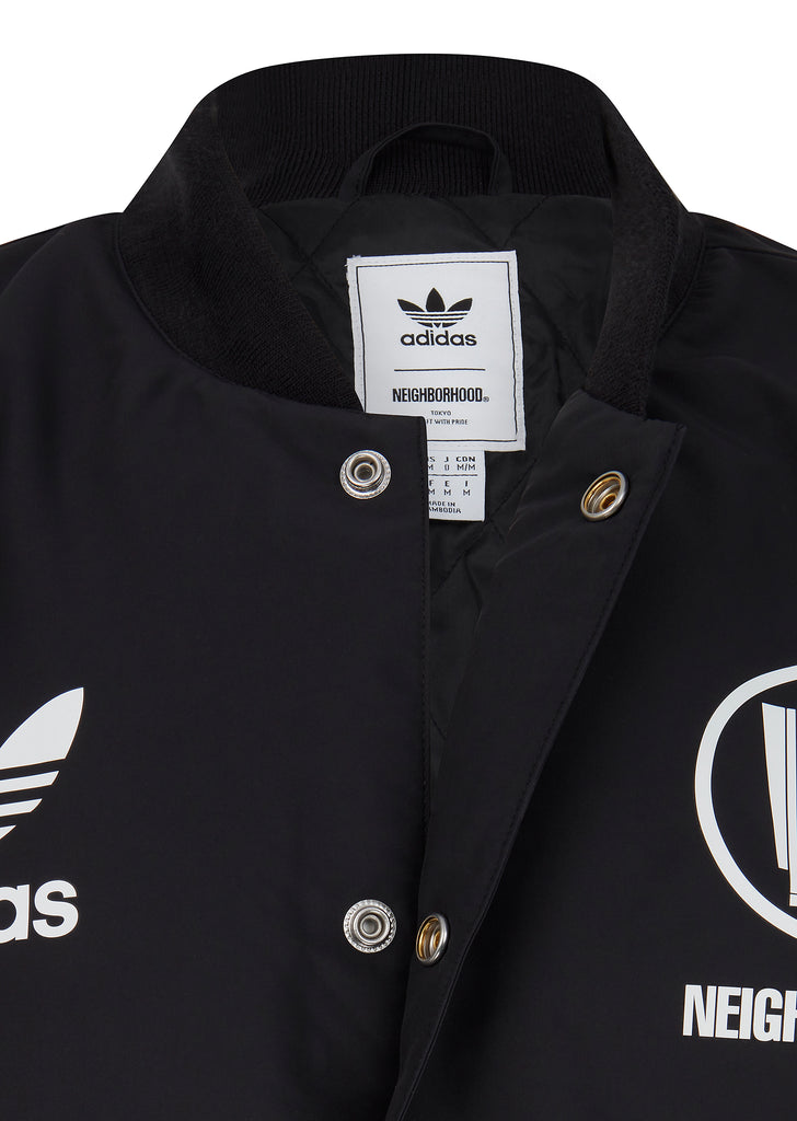 Stadium Jacket in Black
