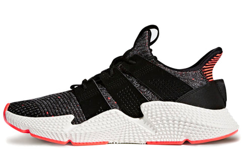 SS18 Prophere Sneakers in Core Black/Solar Red