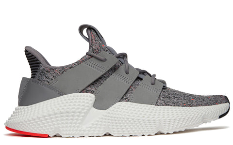 SS18 Prophere Sneakers in Grey/Solar Red