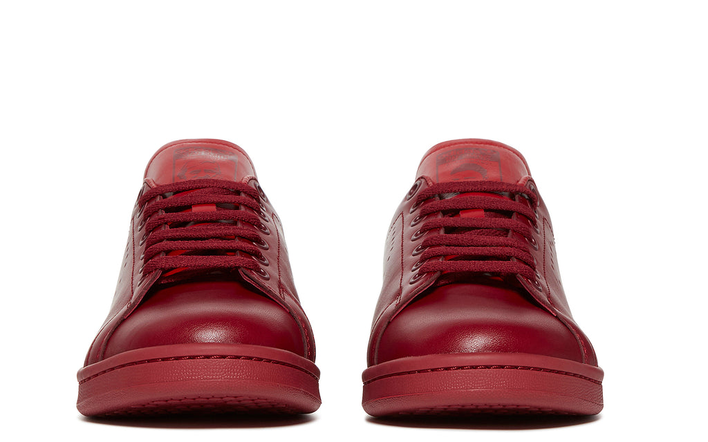 SS18 RS Stan Smith Sneaker in Burgundy