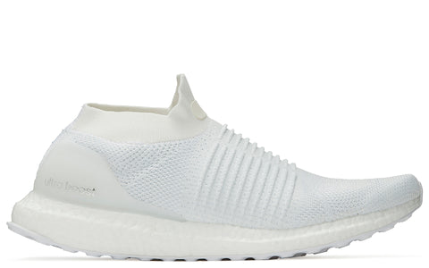 SS18 Ultraboost Laceless in Non-Dyed White