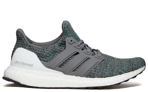 SS18 Ultraboost 4.0 in Grey Four/Grey Four/Hi-Res Green