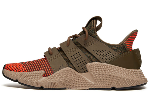 SS18 Prophere Sneakers in Trace Olive/Solar Red