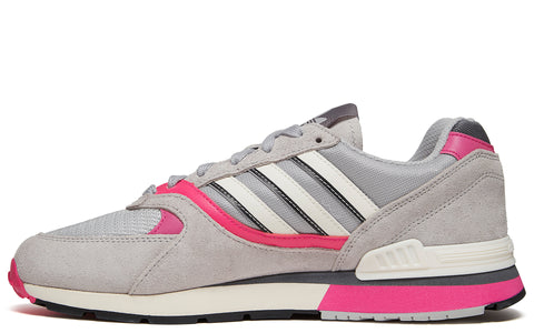 SS18 Quesence Sneaker in Grey Two/Shock Pink/Grey Four