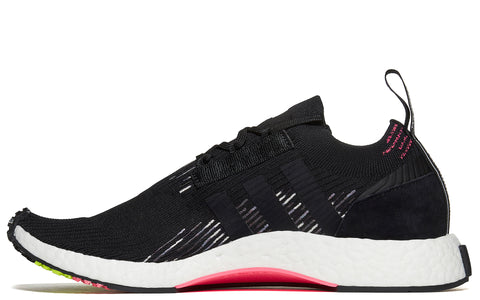 SS18 NMD_RACER Primeknit in Core Black/Solar Pink (CQ2441)