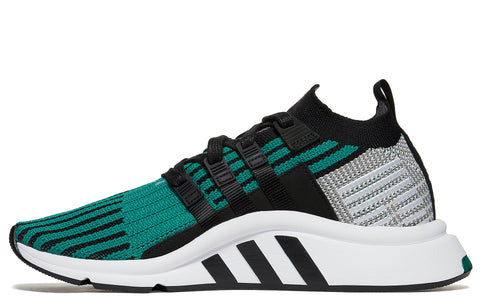 SS18 EQT Support Mid Adv in Core Black/Green (CQ2998)