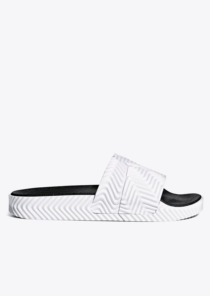 Adilette Slides in White
