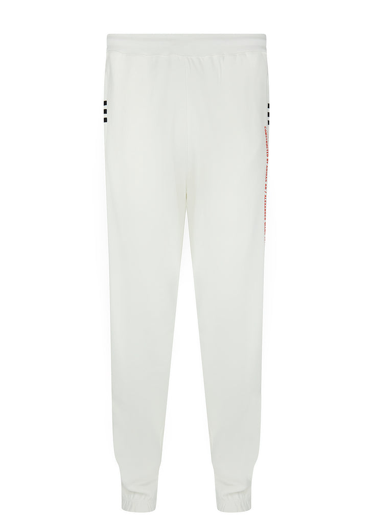 Graphic Jogger Pants in Core White