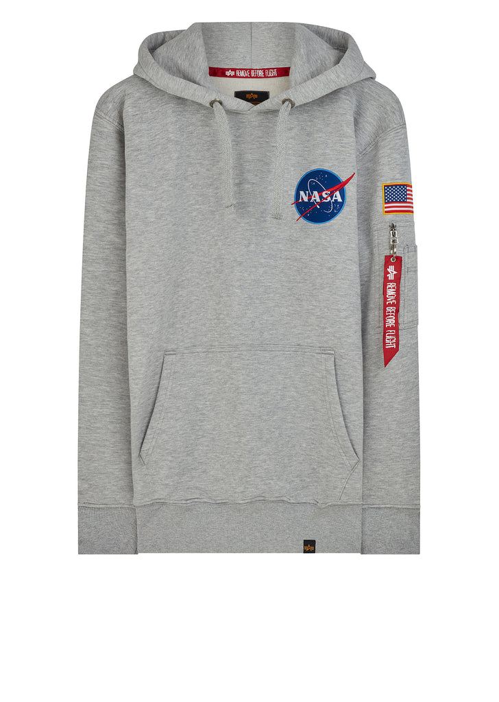 SS18 Space Shuttle Hoody in Grey