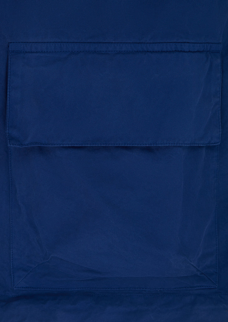 Garment Dyed Smock in Blue