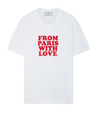 From Paris With Love T-Shirt in White