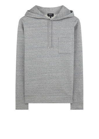 Yo Hoodie in Heathered Blue Grey