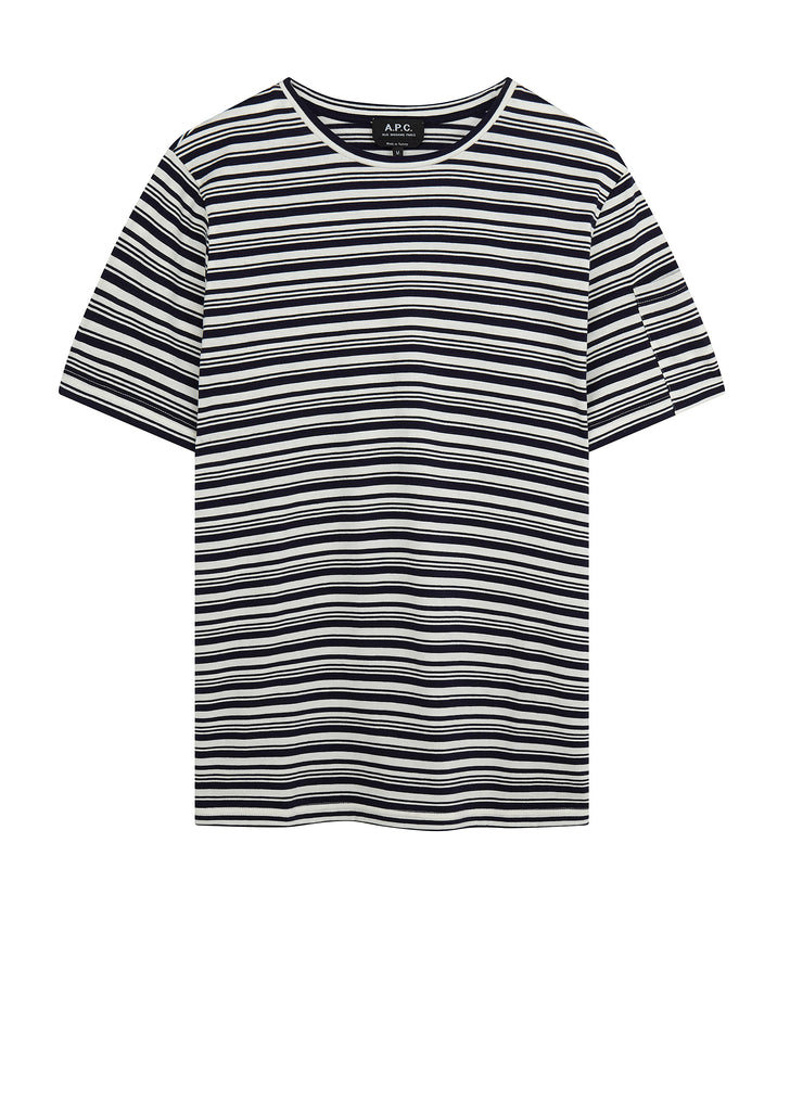 SS18 Rody Stripe T-Shirt in Navy Blue