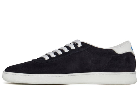 APR002 Suede Low in Dark Navy