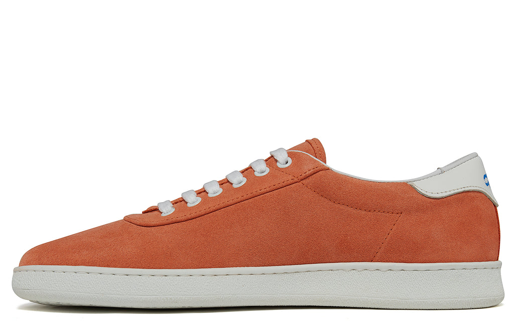APR002 Suede Low in Peach
