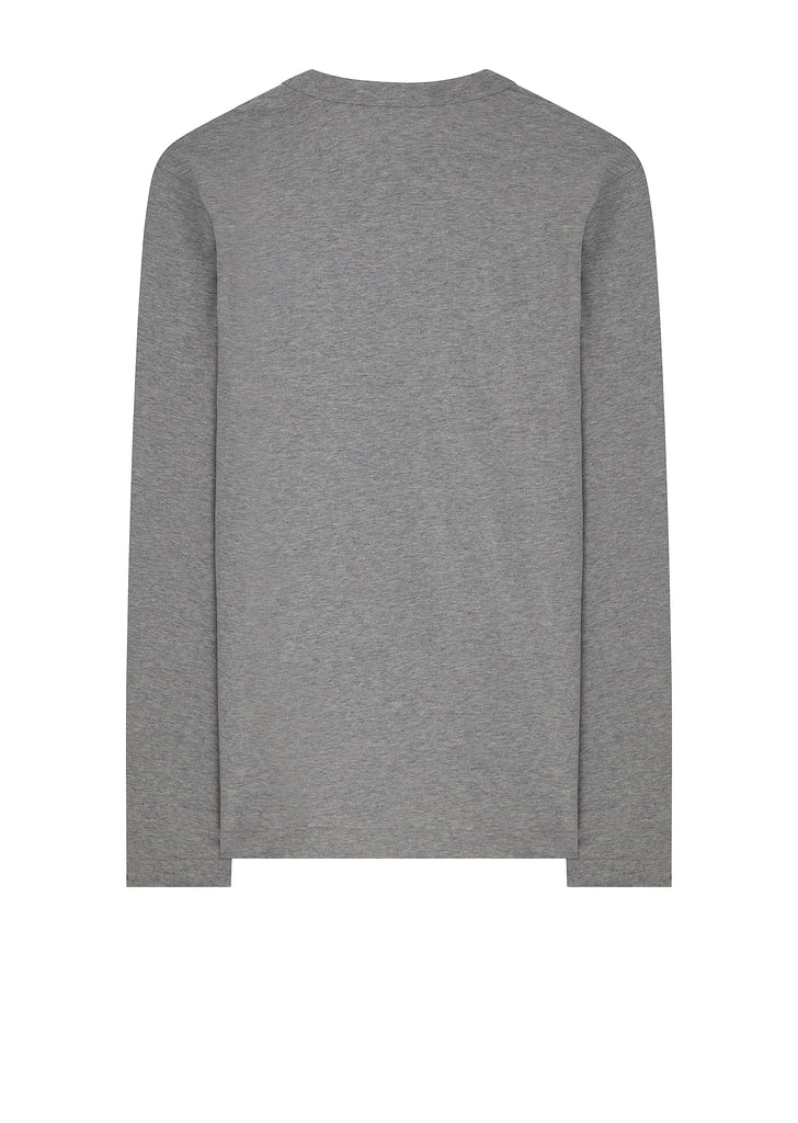 SS18 Boys Patch Long Sleeve T-Shirt in Grey