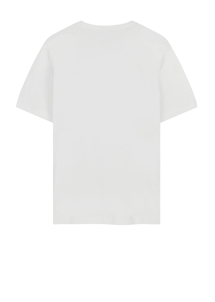 Short Sleeved T-Shirt  in White