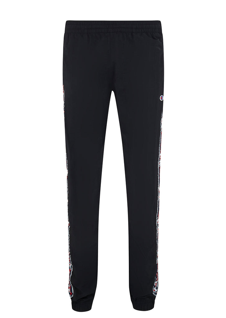 Shell Track Pants in Black