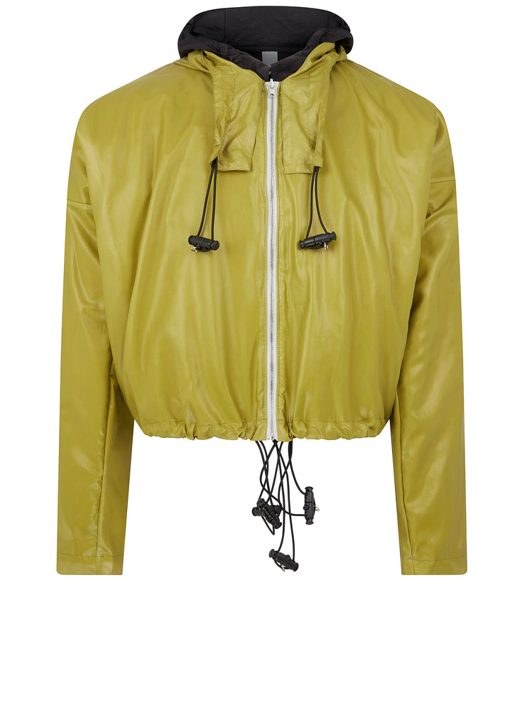 SS18 Protective Short Jacket in Yellow