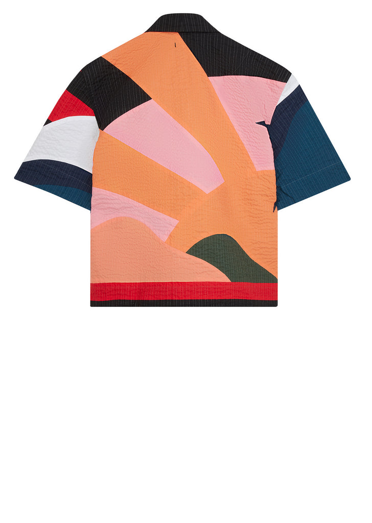 Acid Desert Island Holiday Shirt in Multi