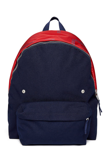 Raf Simons Padded Pak'r Backpack in Navy