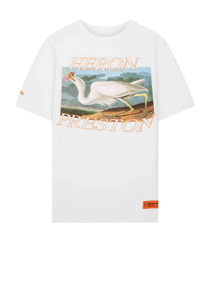 SS18 Heron T-shirt in White