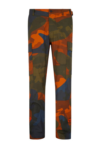 CTNMB Style Cargo Trouser in Orange
