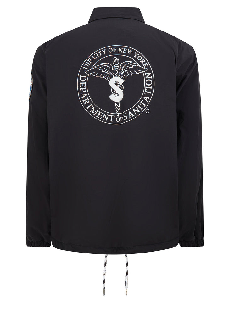 DSNY Coach Jacket in Black
