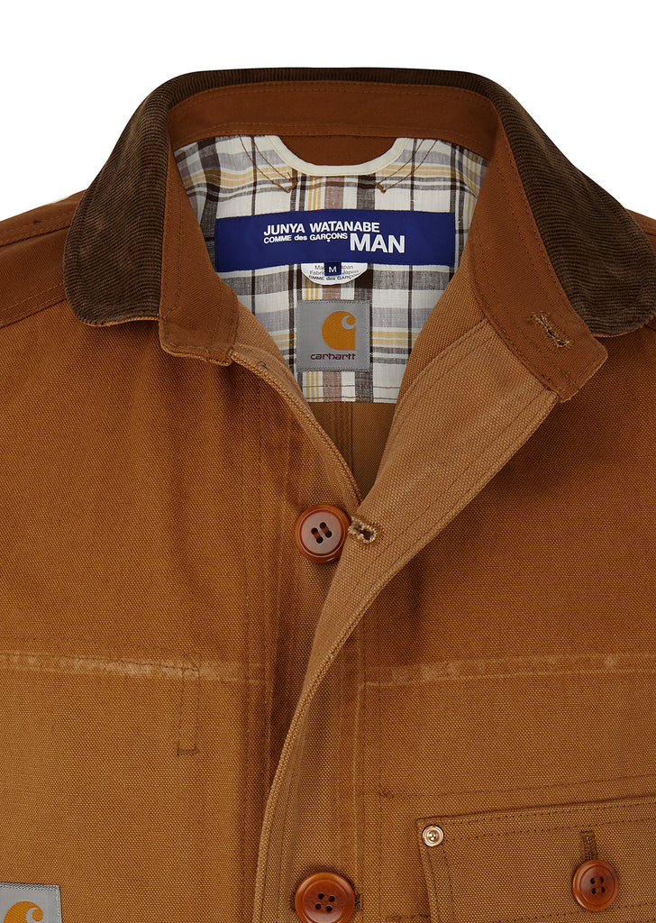 Carhartt Cotton Chore Jacket in Tan