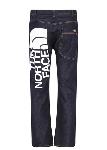 The North Face Printed Logo Jeans in Indio