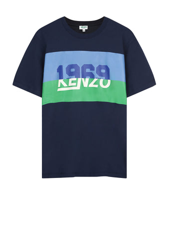 1969 KENZO Crew Neck T-Shirt in Ink