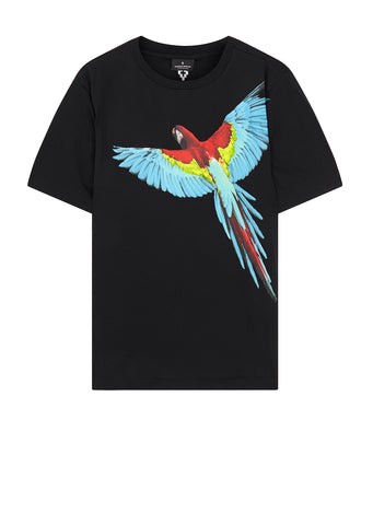 Parrot T-Shirt in Black