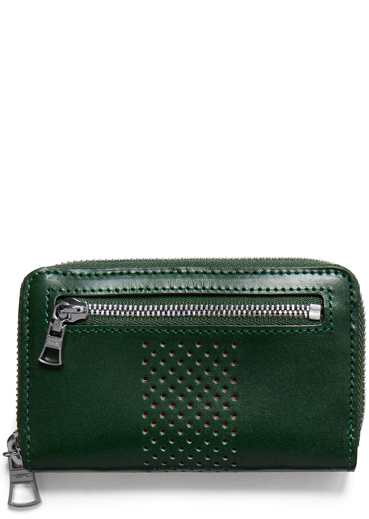 Vand Leather Wallet in Green