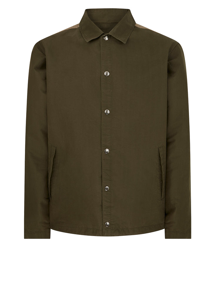 Coach Jacket in Khaki