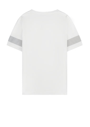 Half Sleeve T-Shirt in White