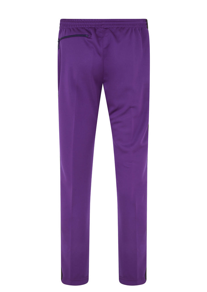 Poly Smooth Narrow Track Pant in Purple