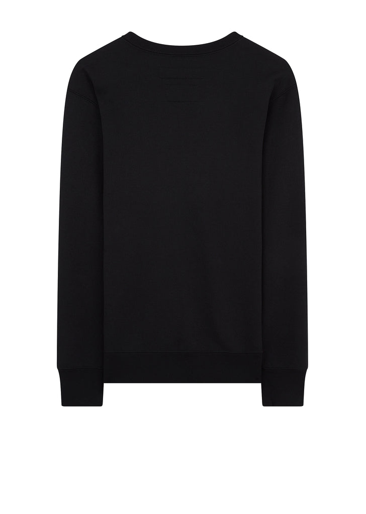 SS18 Pap Long Sleeve Ec-Crew Sweatshirt in Black