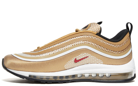 SS18 Air Max 97 UL '17 Shoe in in Metallic Gold/Varsity Red (918356-700)
