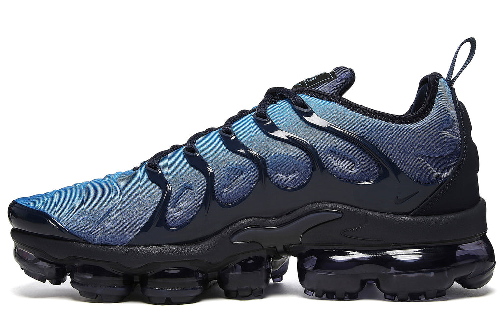 Air VaporMax Plus in Obsidian/Photo Blue/Black