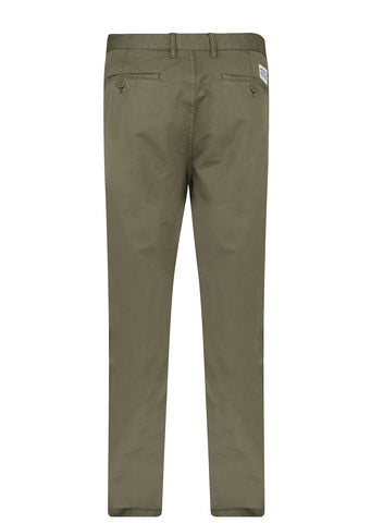 Aros Light Twill Chino in Dried Olive