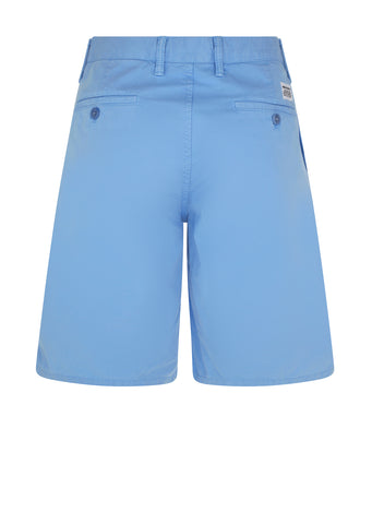Aros Light Twill Shorts in Luminous Blue
