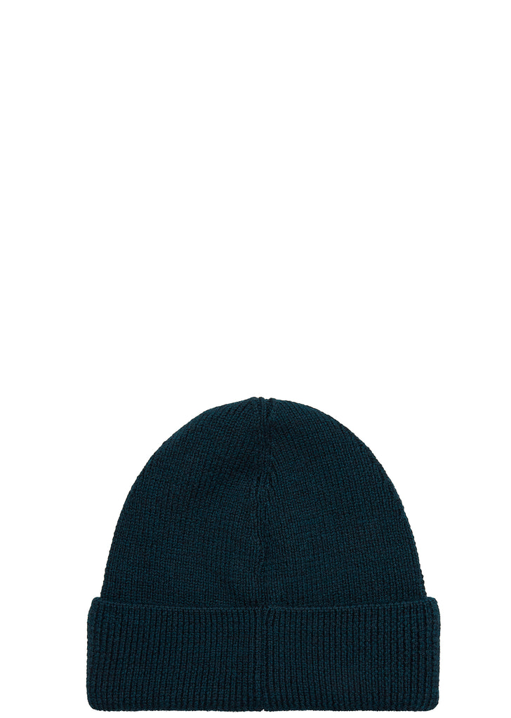 SS18 Rib Wool Beanie in Navy